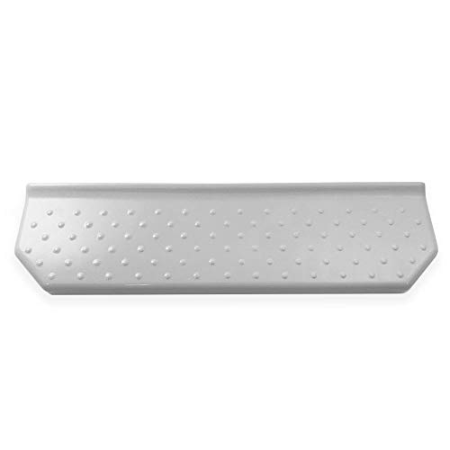 Geo 6 Inch Floating Soap Dish Polished White Questech