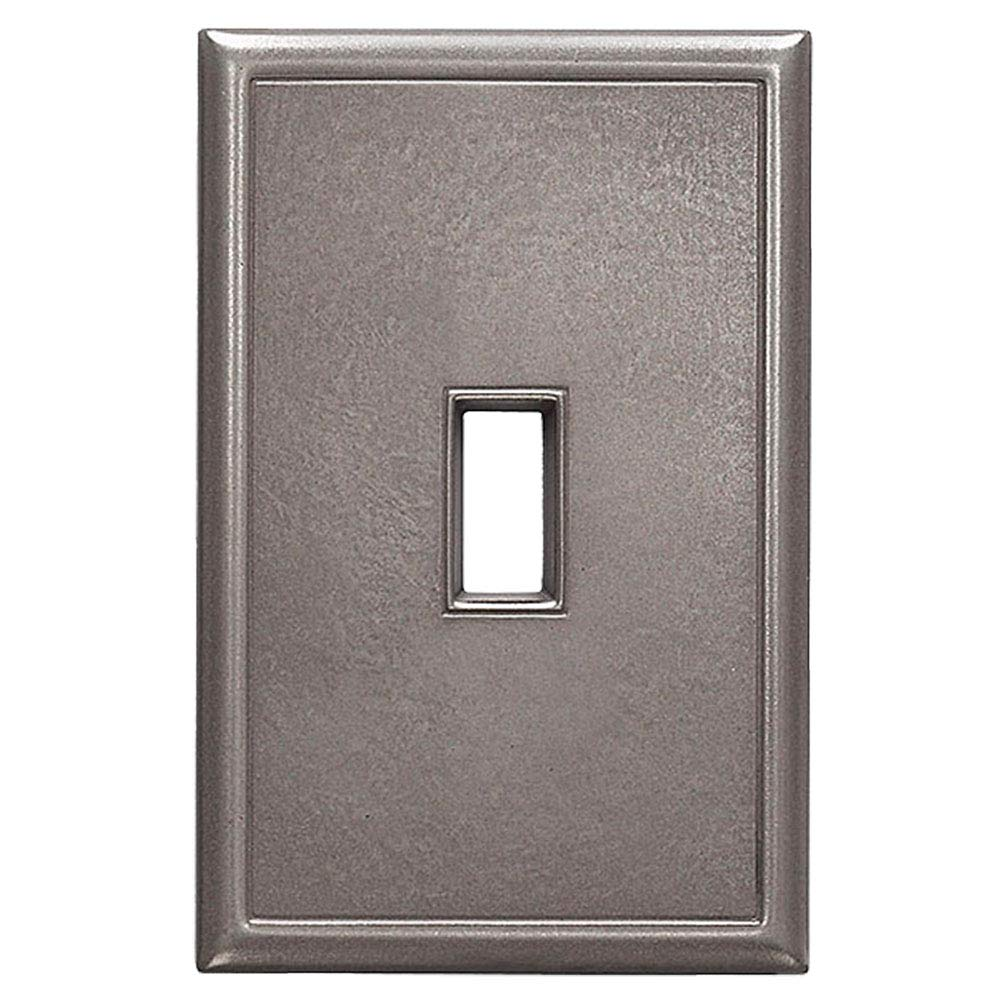 Classic Screwless Single Toggle Switch Plate Cover