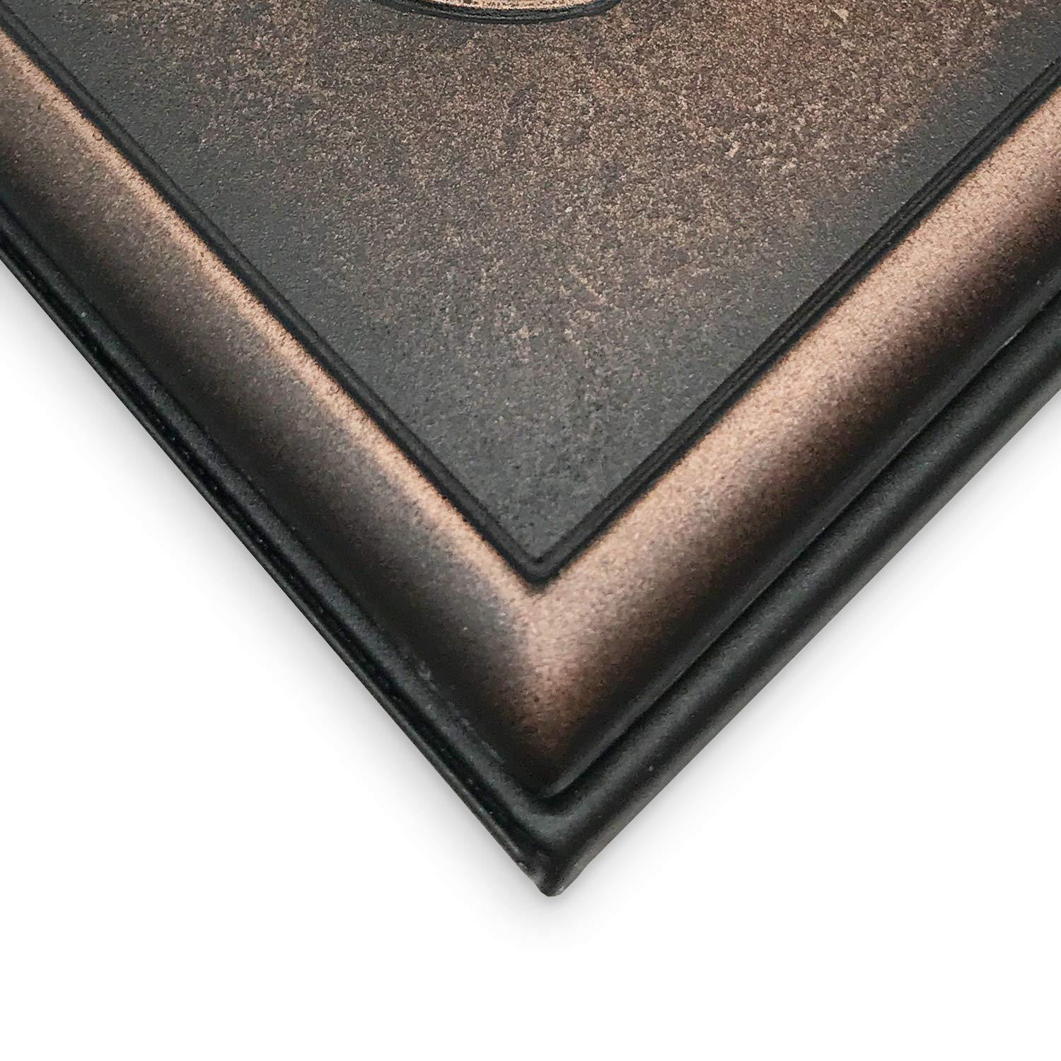 Classic Screwless Single Toggle Metal Composite Wall Plate Cover Oil Rubbed Bronze Questech